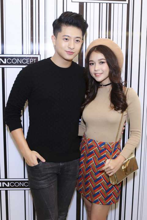 Harry Lu và hotgirl Sam cũng tới tham dự sự kiện