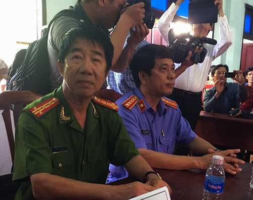 Đại tá Phạm Thật, là phó ban chuyên án truy bắt hung thủ thật sự vụ án sát hại bà Lê Thị Bông xảy ra tháng 4/1998