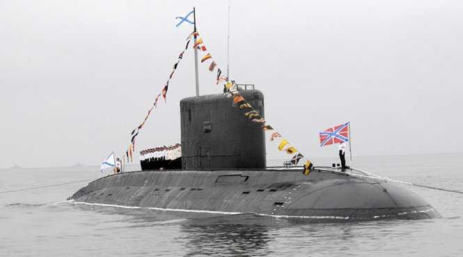 Tàu ngầm Rostov-on-Don của Nga