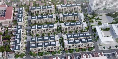 Pandora gồm 104 căn nhà vườn, nhà phố vườn được thiết kế hài hòa, đẳng cấp.