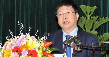 Tân Chủ tịch UBND tỉnh Hải Dương Nguyễn Dương Thái. Ảnh: Báo Hải Dương.