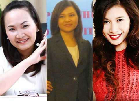 Những nữ tướng trẻ tuổi: Đặng Huỳnh Ức My, Phạm Đỗ Diễm Hương và Nguyễn Ngọc Mỹ
