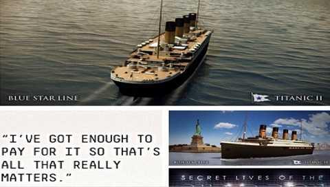 Bản sao tàu Titanic trị giá hơn 600 triệu USD