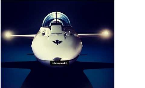 Tàu bay dưới nước siêu sang chảnh