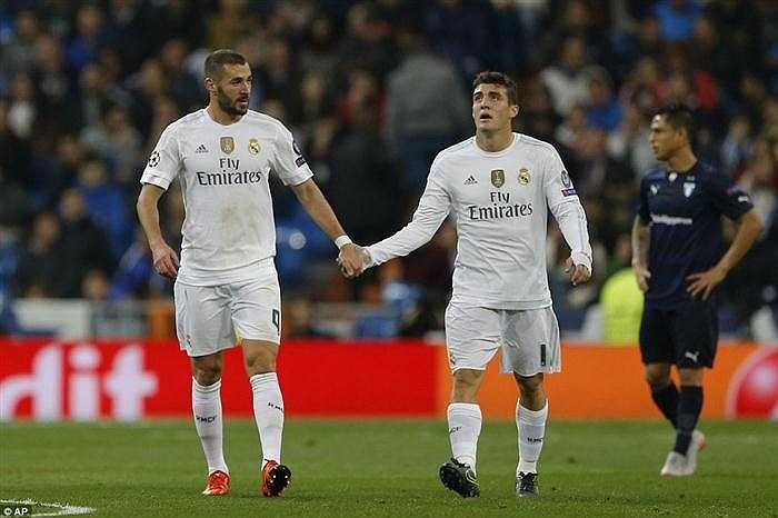 Matteo Kovacic ấn định tỉ số cho Real ở phút 70