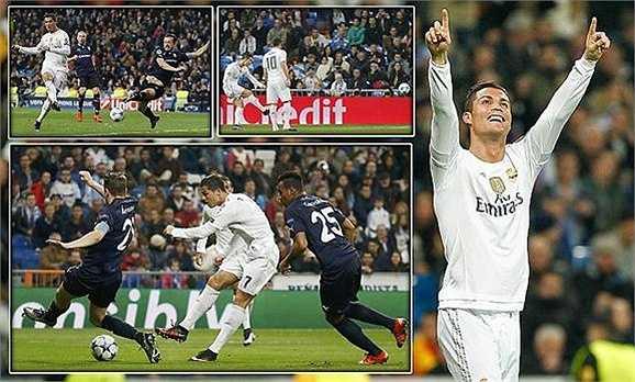 Năm ngoái, Ronaldo từng giữ kỷ lục ghi nhiều bàn nhất tại vòng bảng Champions League cùng Luiz Adriano của Shakhtar Donetsk