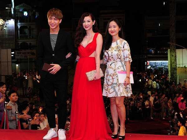 B Trần, Quỳnh Chi đại diện cho bộ phim Vẽ đường cho yêu chạy