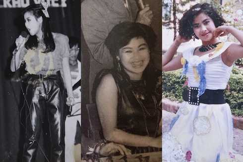 Bắt đầu hoạt động nghệ thuật từ những năm 80, Thanh Lam sở hữu vẻ ngoài bầu bĩnh, đáng yêu. Chị từng tự ti vì vẻ ngoài không thon gọn và giọng hát 'ồ ồ' kém trong trẻo.