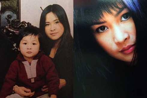 Cuộc hôn nhân kết thúc nhanh chóng với 'trái ngọt' là bé Hồng Vân. Nhan sắc Thanh Lam thời kỳ này như đoá hoa nở rực rỡ.