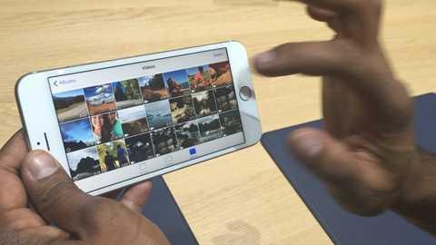 Xóa bớt ảnh là một cách giải phóng bộ nhớ cho iPhone
