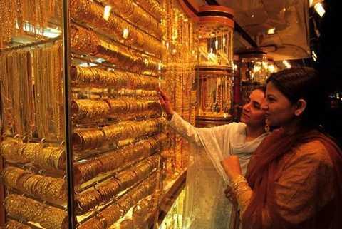 Gold Souk chính là thiên đường của những người yêu sự lấp lánh của đồ trang sức bằng vàng