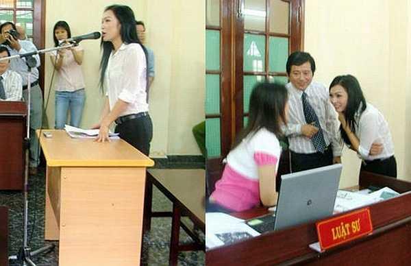 Tuy nhiên trong buổi làm việc cuối cùng, TAND quận Tân Bình đã bác toàn bộ yêu cầu của nữ ca sỹ, đồng thời ghi nhận thiện chí của Hương Trà khi cô viết lại 1 bài viết trên blog Cô gái Đồ Long và bài này phải được đăng tải 2 ngày sau khi án có hiệu lực. (Nguồn: Dân Việt)