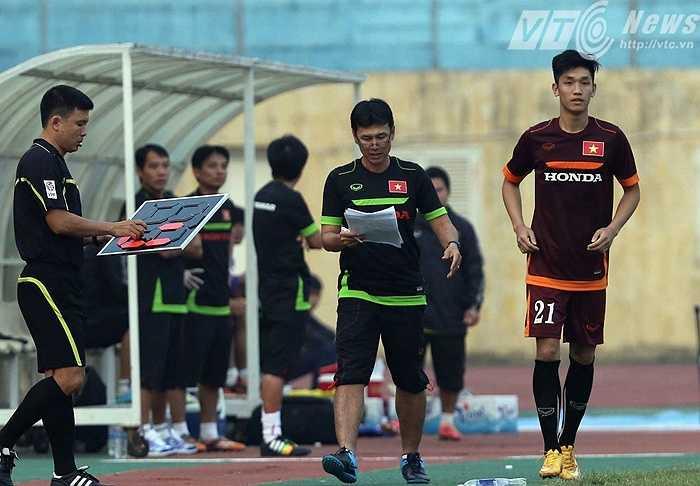 U23 Việt Nam liên tục thay người, đặc biệt trong hiệp 2