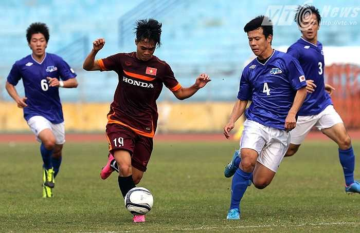 Văn Toàn cũng nằm trong số chơi nổi bật của U23 Việt Nam