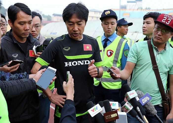 HLV Miura cho biết, ông vẫn chờ vào sự trở lại của Duy Mạnh và Tuấn Anh