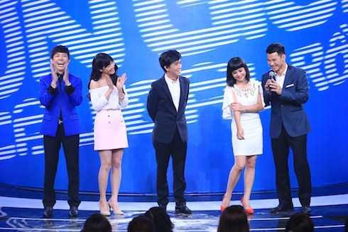 Các khách mời của chương trình: Nhã Phương, Minh Thuận, Long Nhật và Cát Phượng.