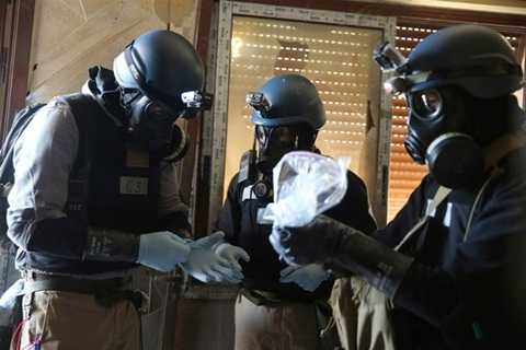 Mỹ bị cho là có toan tính dùng cái cớ vũ khí hóa học để đưa quân vào Syria - Ảnh minh họa