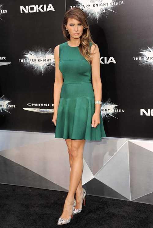 Cựu người mẫu Melania.