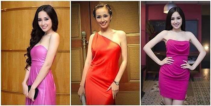 Bộ sưu tập váy xẻ, ngắn khoe đùi của người đẹp khiến công chúng xao xuyến.