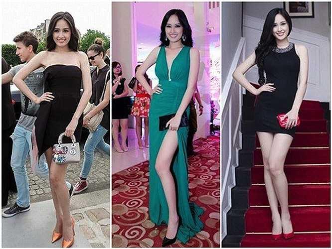Năm 2013, cô được mệnh danh là 'Hoa hậu hàng hiệu' với những món đồ sang trọng, đắt tiền mỗi lần xuất hiện.