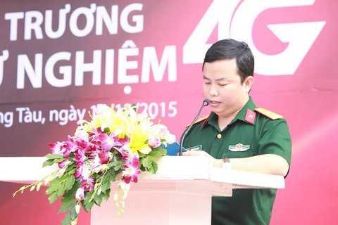 PTGĐ Viettel Telecom Ông Đặng văn Nhiên phát biểu