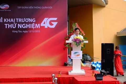 Ông Lê Văn Lâm – Phó Giám đốc Sở thông tin và truyền thông Tỉnh Bà Rịa – Vũng Tàu phát biểu.