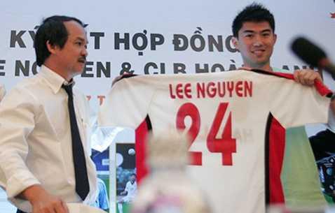 Bầu Đức và Lee Nguyễn từng tạo nên một cuộc tình đẹp ở V-League