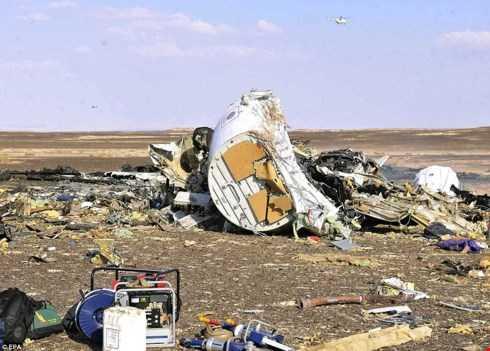 Ai Cập thông báo không tìm thấy bằng chứng máy bay Nga bị khủng bố