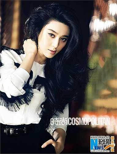 Phạm Băng Băng đứng ở vị trí thứ 2, cô được nhận xét là sao nữ đẹp nhất Trung Quốc.
