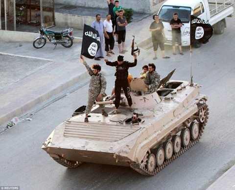 IS chiếm Raqqa từ năm 2013