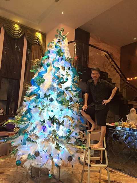 Nam ca sĩ mong rằng đây sẽ là món quà thú vị dành cho khán giả trong và ngoài Đạo có thêm địa điểm tham quan, chụp hình trong mùa Noel này.