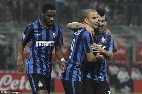 Inter vừa đại thắng Cagliari đêm qua