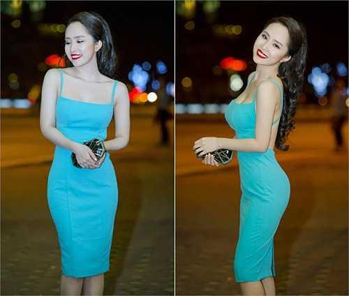 Sau thời gian im ắng, Quỳnh Nga trở lại showbiz Việt với hình ảnh quá đỗi gợi cảm. Không có chiều cao lý tưởng, song bù lại bà xã Doãn Tuấn lại sở hữu đường cong nóng bỏng và chúng luôn được cô phô diễn trong trang phục cut out bó sát