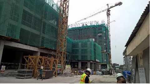 Thực tế công trường dự án, cập nhật ngày 12/12/2015