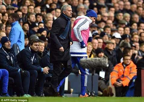 Người cuối cùng Mourinho va chạm ở mùa này là Diego Costa