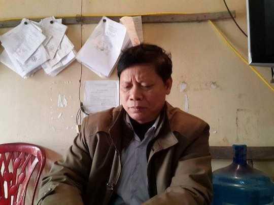 Ông Dương Văn Thân, Trưởng Công an xã Vân Trung