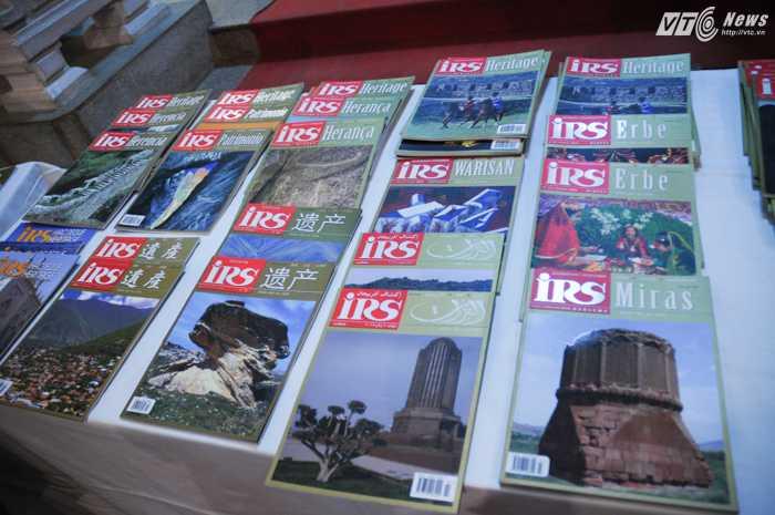Các phiên bản tạp chí IRS theo các ngôn ngữ trên thế giới