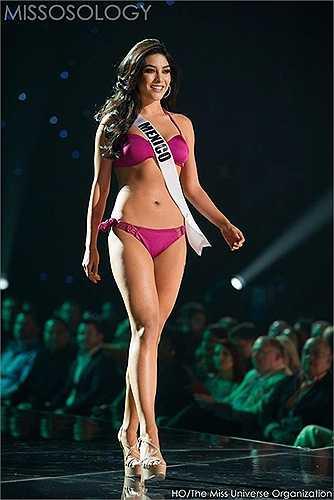 Hoa hậu Mexico Wendy Esparza