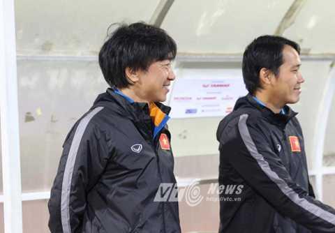 Miura sẽ cùng các học trò Nam tiến (Ảnh: Quang Minh)