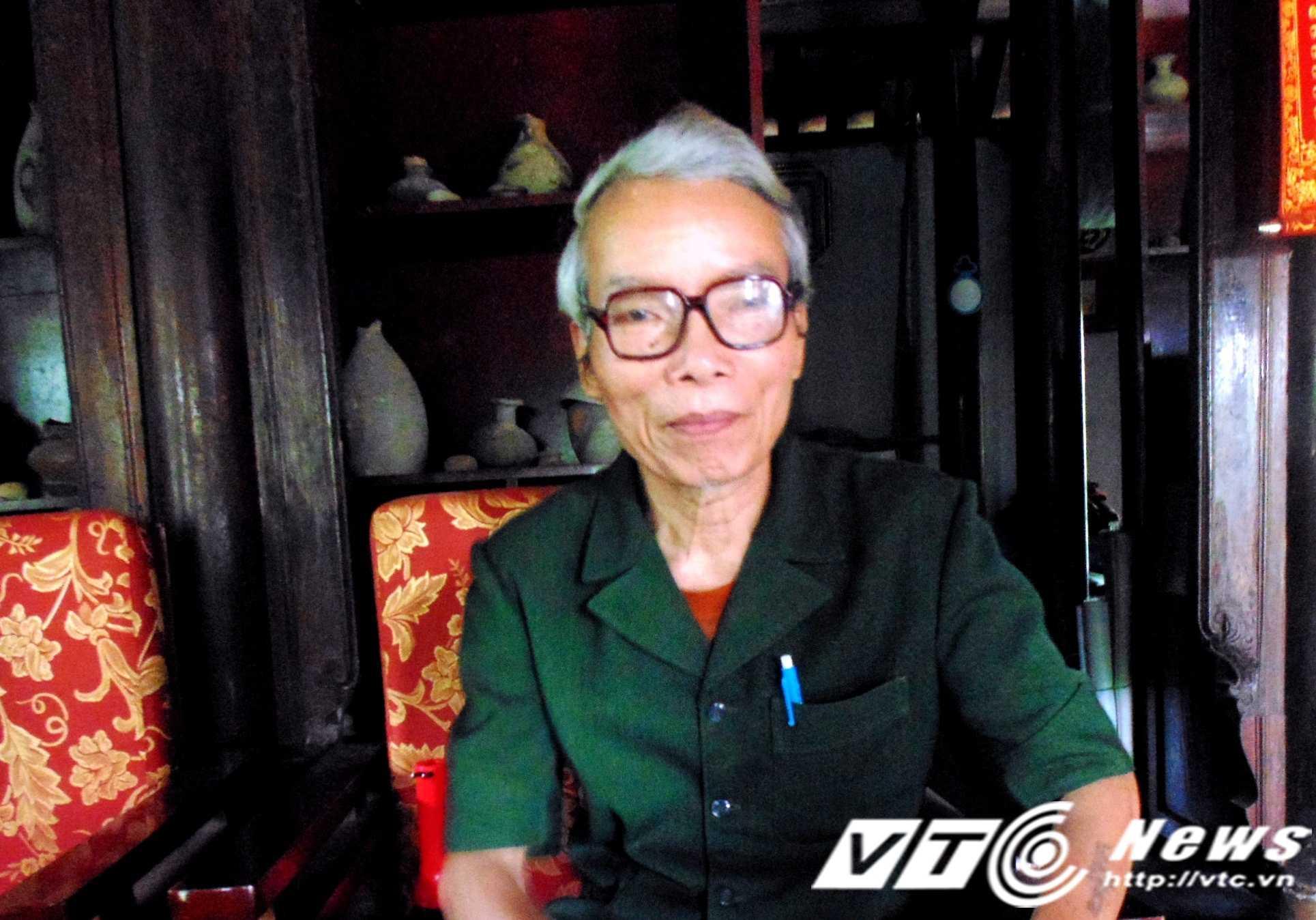 Ông Lương Thanh Khiếu, Ban Quản lí Làng cổ Phước tích không dám khẳng định thực hư những chuyện lạ quanh miếu Cây Thị.