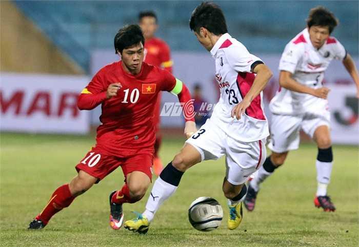 Tuy nhiên, tính chất trận đấu giữa U23 Việt Nam và Cerezo Osaka khác hẳn 2 trận đấu tập trước của U23 Việt Nam. (Ảnh: Quang Minh)