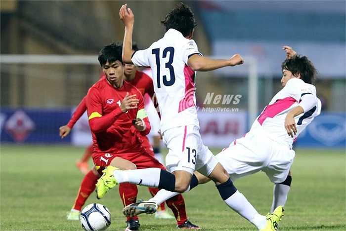 Còn HLV Miura thì cho rằng, Phượng có đủ những yếu tố để trở thành đội trưởng của U23 Việt Nam nhưng cần phải thử thách thêm. (Ảnh: Quang Minh)