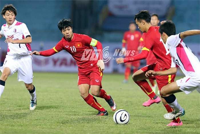 Công Phượng rõ ràng đang ngày càng quan trọng hơn trong lối chơi của U23 Việt Nam. (Ảnh: Quang Minh)