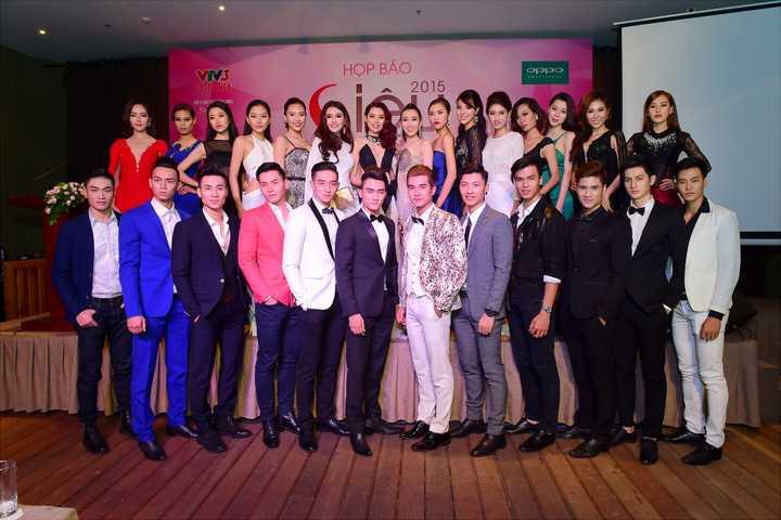 Dàn thí sinh của Siêu mẫu Việt Nam 2015