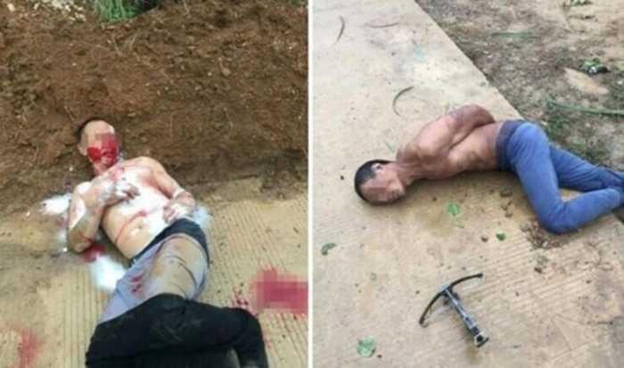 Hai kẻ trộm chó bị đánh dã man