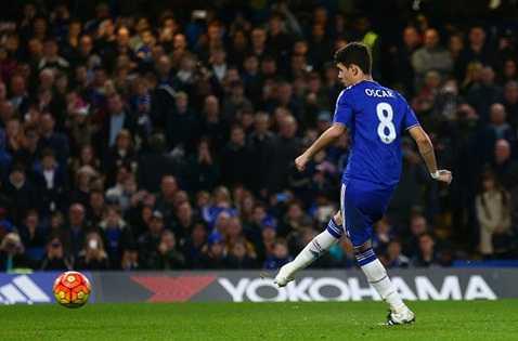 Oscar, Willian và Pedro là 3 người chơi ấn tượng nhất trận này của Chelsea