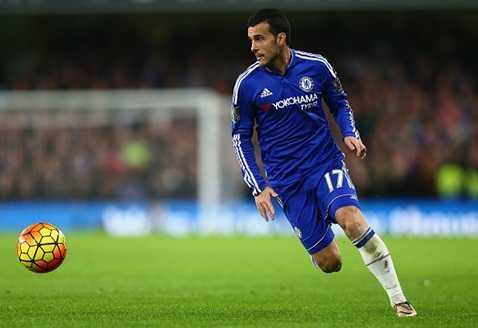 Pedro chơi rất năng nổ trận này