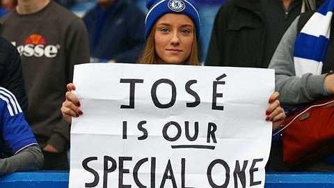 Jose Mourinho là người đặc biệt của chúng tôi