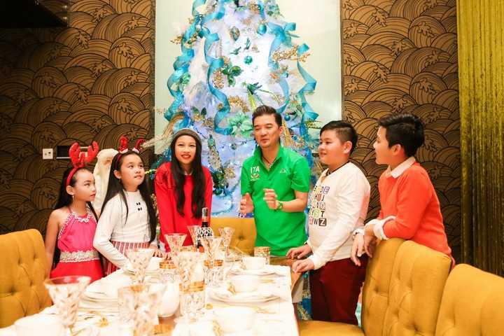 Cứ mỗi dịp giáng sinh,  ca sĩ Đàm Vĩnh Hưng lại cho trang hoàng nhà cửa thật là lộng lẫy, bắt mắt và mời khán giả, người hâm mộ đến tham quan, chụp ảnh.