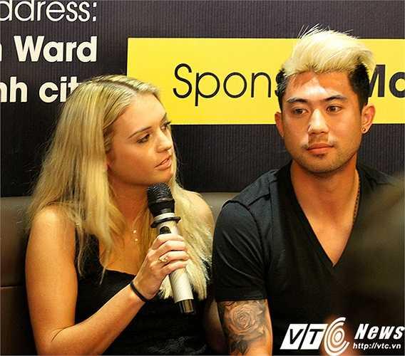 Janell cho biết: 'Nếu Lee Nguyễn trở về Việt Nam thi đấu, tôi cũng muốn được cùng bạn trai của mình sang Việt Nam sinh sống'